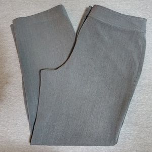 Gray Trouser Dress Pants by Liz Claiborne Size 12